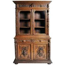 finely carved antique hunting buffet cabinet at 1stdibs