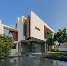 modern home in new delhi overhang house by dada u0026 partners