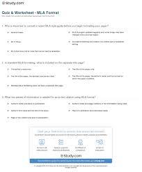mla quote novel mla citation worksheets worksheets