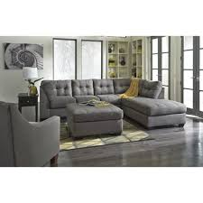 Oversized Accent Chairs Ashley Furniture Maier Sectional In Charcoal Local Furniture Outlet