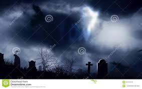 graveyard bats in the moonlight happy halloween stock footage
