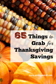 65 things to grab for thanksgiving savings earning and saving with