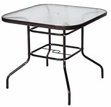 Patio Table Glass Top Amazon Com Cloud Mountain 32