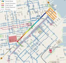 Map Of Chinatown San Francisco by San Francisco Pride Parade Sfmta