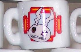 mug ornament 2000 digimon ceramic mini mug christmas ornament