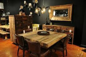 rustic square dining table angora reclaimed wood square dining table zin home