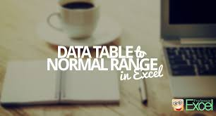 convert the table to a normal range data table to normal range how to convert an excel table