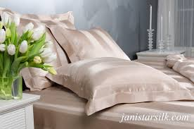classic stripe silk bed linen set free delivery