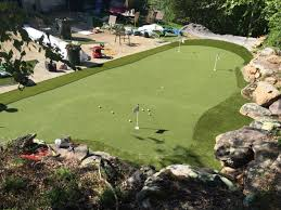 Backyard Golf Course by Backyard Synthetic Golf Outdoor Solutions By Mrc Group Llc