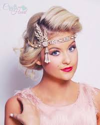 gatsby headband gold gatsby headband pacraftsfromtheheart