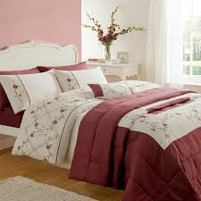 elegant cream and red duvet cover 72 on duvet covers king with