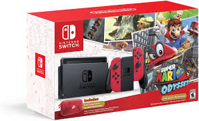 amazon com nintendo switch super mario odyssey edition video games