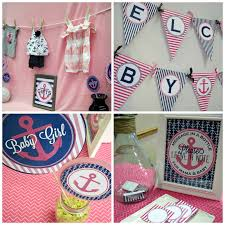 Nautical Baby Shower Decorations - boat baby shower decorations choice image handycraft decoration