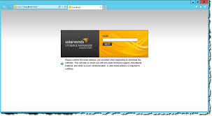 install and configure of solarwind u0027s storage manager notes from