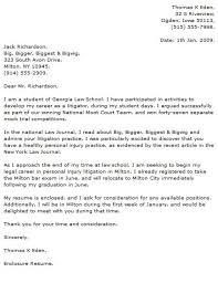 sample law cover letter