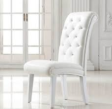 White Leather Dining Room Chairs Dining Room Chairs White Leather Amazing Dining Chairs Side Dudu