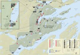 Sound Map Heritage Foundation Of Terra Nova National Park Map