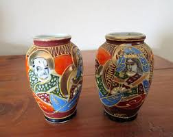Old Vases Prices Japanese Vase Etsy