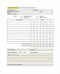 job task analysis template hitecauto us