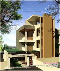 Front View House Plans 2951 Sq Ft 4 Bedroom Bungalow Floor Plan And 3d View Kerala G