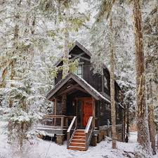 winter cabin 15 airbnb cabins to rent this winter cabin tree and woods
