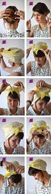 how to wear bandanas with bob hairstyles 14 tutorials for bandana hairstyles pretty designs