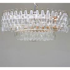 Chandelier Frame Parts Chandelier Parts Including Frame And Partial Set Of Crystals By