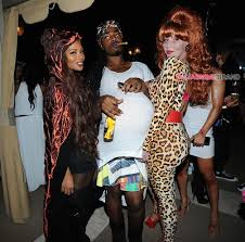 Peggy Bundy Halloween Costume Amber Rose Throws Halloween Themed Birthday Bash Chris Brown