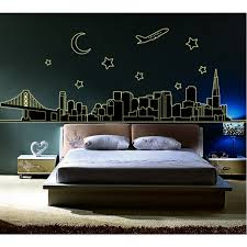 glow in the dark wall stickers city themes london new york paris glow in the dark wall stickers city themes new york