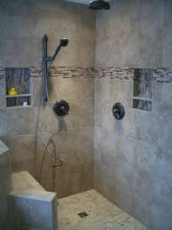 bed bath doorless walk in shower and tile designs with create