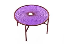 Purple Table L M Afrique Collection Banjooli Table By Moroso Stylepark