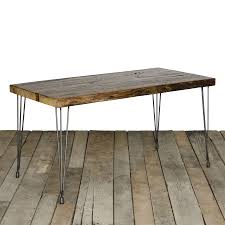 Wooden Dining Table Furniture Modern Reclaimed Wood Dining Table Reclaimed Dining Table Mid