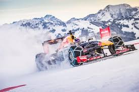 tag heuer bull f1 show run on snow