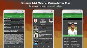 cricbuzz mod apk 3 1 3 adfree material design app android