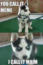 Crazy Wolf Meme - i made an insanity wolf meme in minecraft advice animals