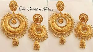 gold earring design with price gold earrings designs with weight and price the fashion