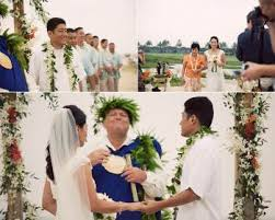 island themed wedding hawaiian theme wedding draws inspiration from flowers and colors of