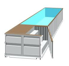 el cheapo shipping container swimming pool my next diy project
