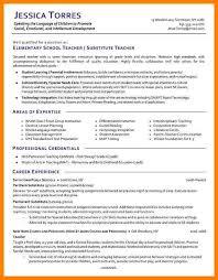 100 substitute teacher resume example acting resume for