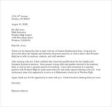thank you letter to teacher u2013 9 free word excel pdf format