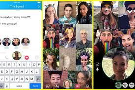 Meme Temps - appeller 16 personnes sur snapchat en vid礬o et en m礫me temps c