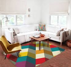Modern Rugs Affordable Geometric Rug Modern Rug Colorful Rug Thegretest