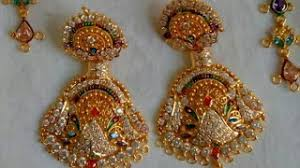rajputi earrings ns jewellery arts viyoutube
