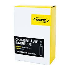 chambre a air velo course mavic presta valve inner 700x21 25 48mm sigma sports