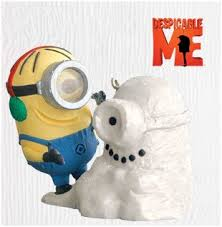 2010 despicable snowminion hallmark keepsake ornaments minions