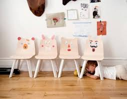 kids play table and chairs kids can add their own personal touch to oeuf s new play collection