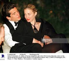 jfk jr and wife carolyn at dinner carolyn bessette kennedy