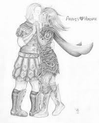 aravis and hadvar by painted tardis on deviantart