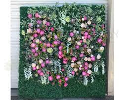 for hire wedding backdrop flower wall 210x105cm malaga perth