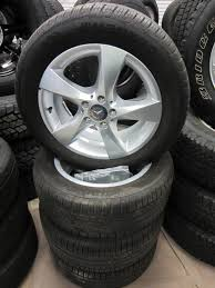 tires for mercedes 16 17 mercedes metris oem 17 aluminum wheels with 225 55 r17